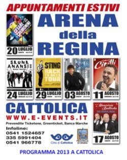Eventi Arena della Regina Cattolica 2013