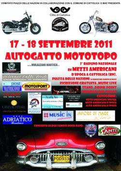 Autogatto Mototopo 2011 Cattolica (Rimini)