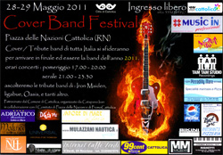 Cover Band Festival Cattolica 2011