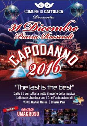 Festa apodanno 2016 Cattolica (RN)
